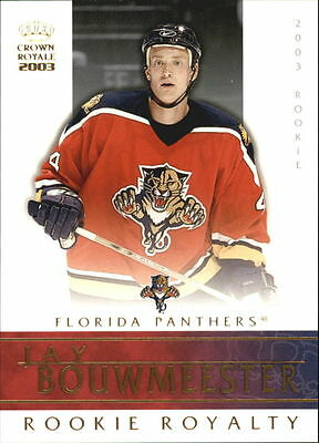 2002-03 Crown Royale Rookie Royalty #11 Jay Bouwmeester