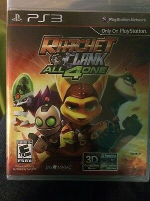 RATCHET AND CLANK: ALL 4 ONE (Playstation 3) New Sealed | Fast Shipping