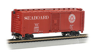 Bachmann 17046 Silver Series HO 40' Seaboard Box Car Train