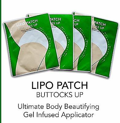ULTIMATE BODY BUTTOCKS UP WRAPS PATCH, it works to tone slim  4 pairs