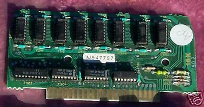 with socketed chips 800 Parts 16K Memory Board Atari 400 TESTED and WORKS!