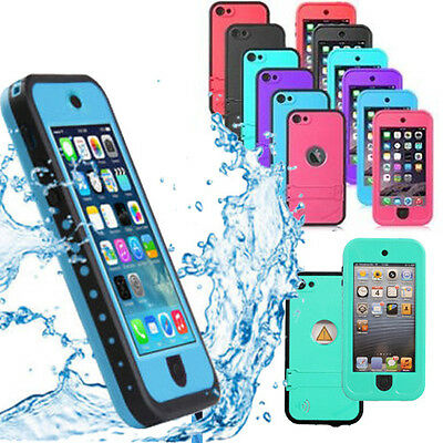 New Waterproof Heavy Duty Shockproof for Apple iTouch iPod Touch 5 6 Case Cover