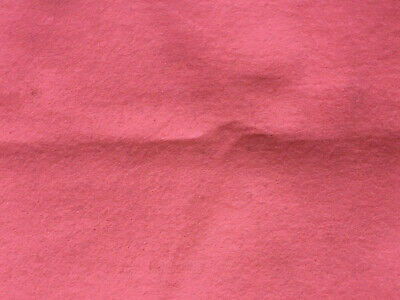 "8""x10"" WOOL FELT Fabric - BUBBLEGUM PINK"