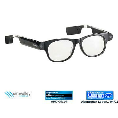 Sonnenbrille Kamera: Smart Glasses SG-101.bt mit Bluetooth und 720p HD