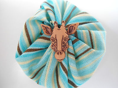HAND STITCHED GIRAFFE PIN OR MAGNET-BRAND NEW