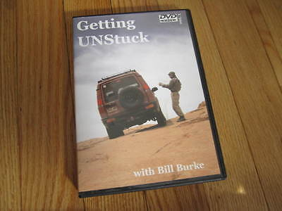 Getting Unstuck DVD Bill Burke Land Rover Off-Road 4X4 Expedition
