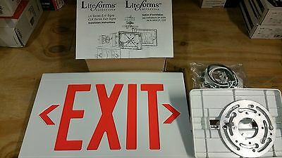 Dual Lite Liteforms Collection LKURW Exit Sign