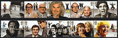 2015 COMEDY GREATS - Mint Stamp Set of Ten SG 3697 - 3706