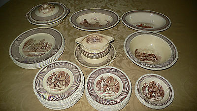 MYOTT SONS & CO SHAKESPEARE LAND 33 PIECES