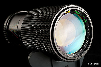 Sears 80-200mm f4 multicoated lens (made by Tokina?), MINOLTA mount, TESTED, exc