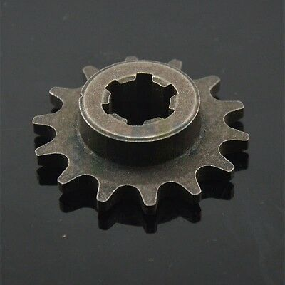 T8F 14T Engine Gearbox Sprocket for Gas Scooter, Pocket Bike, Dirt Bike