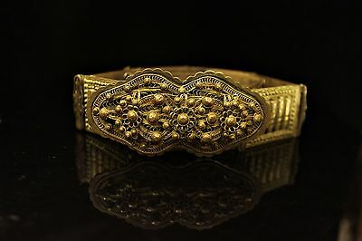 Antique Original Perfect Ottoman Silver Niello Anatolian  Belt