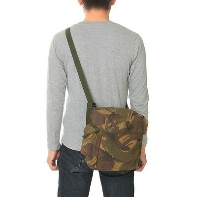 British army waterproof camouflage bag satchel carry case camo military camera