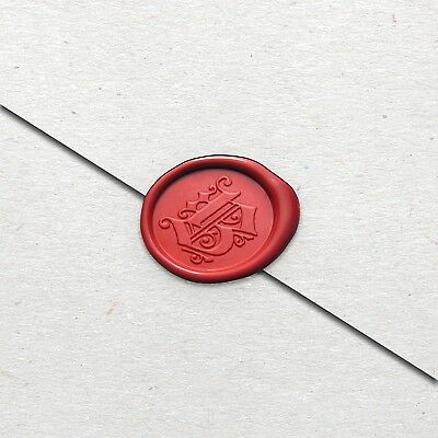 Wax Seal Stamp alphabet letter - Gothic Font