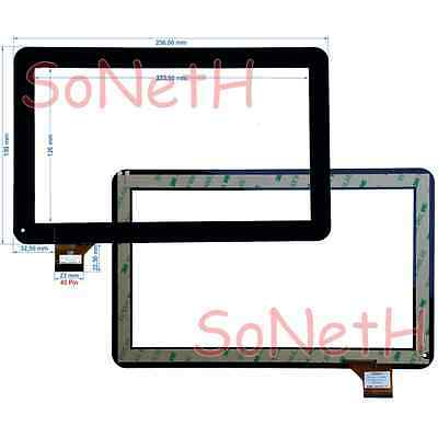 """Vetro Touch screen 10,1"""" Majestic TAB-302 3G Tablet PC Nero"""