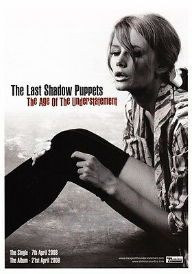 THE LAST SHADOW PUPPETS Miles Kane PHOTO Print POSTER Arctic Monkeys Am 001