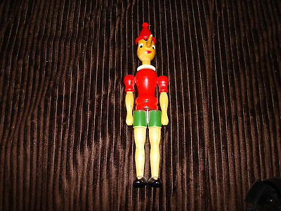 Vintage Wooden PINOCCHIO Movable XLNT Hand Painted Complete
