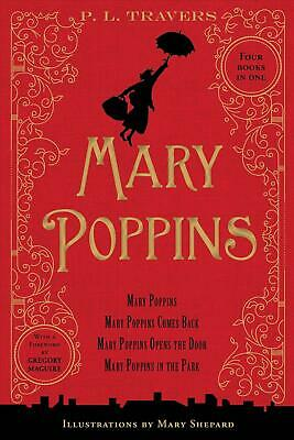 Mary Poppins: 80th Anniversary Collection by P.L. Travers Hardcover Book (Englis