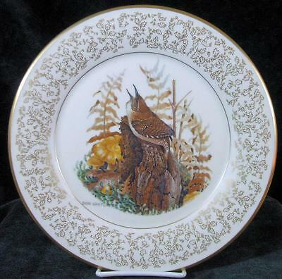 GORHAM - DON WHITLATCH - HOUSE WREN - 1973 - Collector Plate