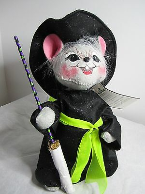 Annalee Halloween  2009  Witch Mouse NWT Doll 10 inch
