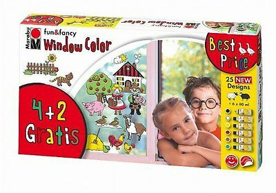 "Marabu Window Color ""fun & fancy"", Set Farmer's World"