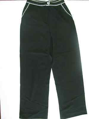 3a71aabb92 NEW NWT Womens QVC Dialogue Twinstretch Fabric Black White Dress Pants Size  10