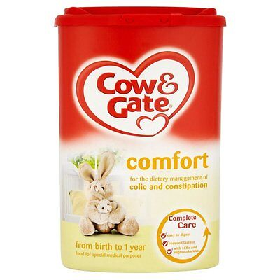Cow & Gate Baby Milk: First-Hungry-Follow on-Growing Up-Comfort-Reflux-Infasoy