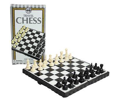 Magnetic Chess Travel Folding Board Case Portable Game Set House of Marbles