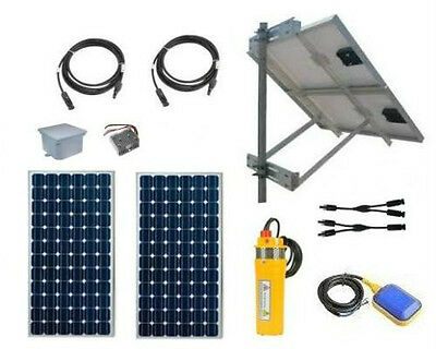 Solar Powered Well Pump Kit - PV Powered Deep Well Water Pumping System