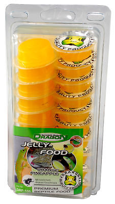 Dragon Jelly Food Fruchtnektar - Sorte: ORANGE PINEAPPLE - Menge: 50 Stück