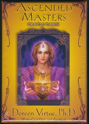 NEW Doreen Virtue Ascended Masters Oracle Cards Deck