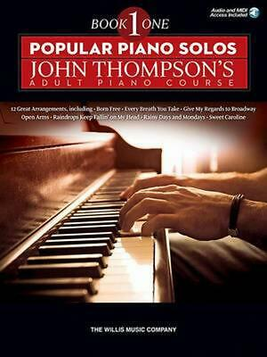 Popular Piano Solos - John Thompson's Adult Piano Course (Book 1): Elementary Le