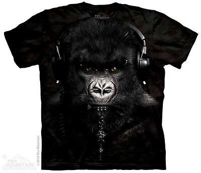The Mountain Dj Caesar Gorilla Music Monkey Jungle Animals T Tee Shirt S-5Xl