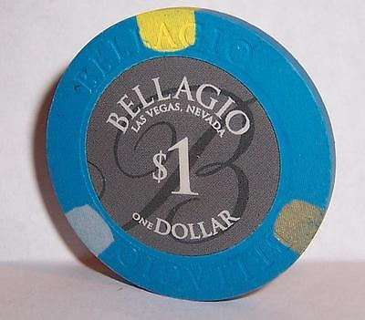 BELLAGIO CASINO CHIPS NICE ONE DOLLAR NEW $1 CHIP LAS VEGAS NEVADA
