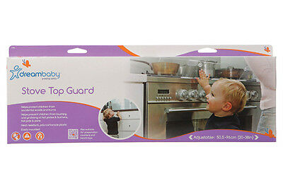 New Dreambaby Stove Oven Top Guard Baby Toddler Safety Dream Baby
