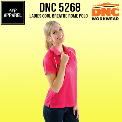 Ladies Cool Breathe Rome Polo Work Wear Brand New Clothes 5268 dnc