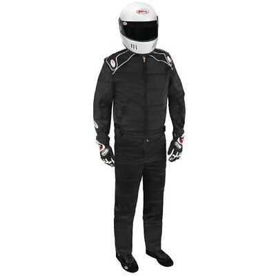 Bell Endurance II Racing Suit, SFI 3.2A/5 Certified, One Piece, Black, Size L