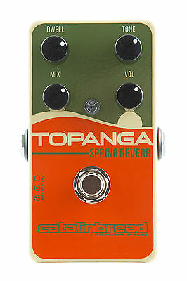 Catalinbread Topanga Spring Reverb Guitar Effect Pedal New