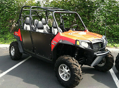 RZR-4 Bear Claw Doors - Black.  Fits RZR-4 800 and XP4 900, 2009-2014