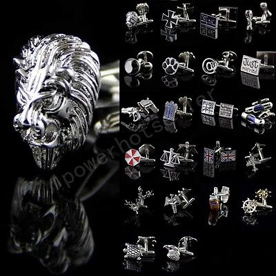 Mens Novelty Stainless steel Creative Model Wedding Party Gift Shirt Cufflinks