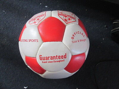 1990 Scarborough Town Signed Football Ball with COA /bi