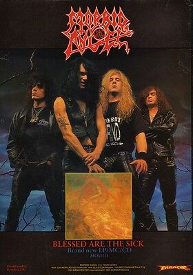MORBID ANGEL Blessed Are The Sick PHOTO Print POSTER Trey Azagthoth Covenant 002