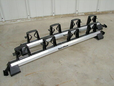 """New NOS Barrecrafters TT-110 Top Tote Ski Rack / Small / Roof Width 41"""" to 51"""""""