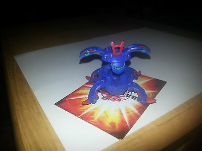 Bakugan Aquos Jetro (Comes with One Card) (Fun for kids)