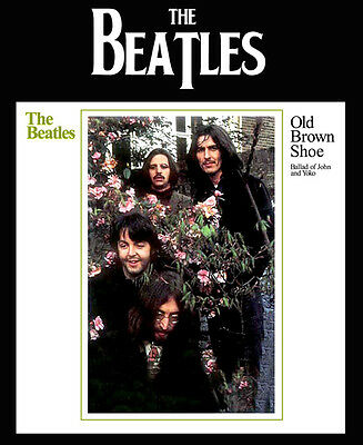 """The Beatles Old Brown Shoe 8 x 10"""" Photo Print"""