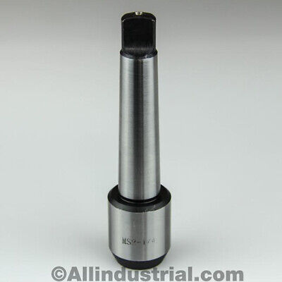 """1/4"""" Mt2 Morse Taper End Mill Tang Tool Holder Adapter End 2Mt"""