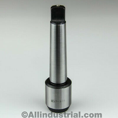 "1/4"" Mt2 Morse Taper End Mill Tang Tool Holder Adapter End 2Mt"
