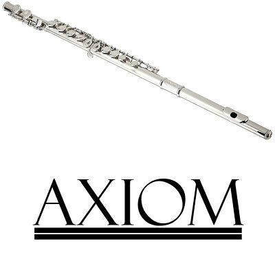 Axiom Student Flute Beginners Flute 16 Hole Concert School Flute 2 Year Warranty