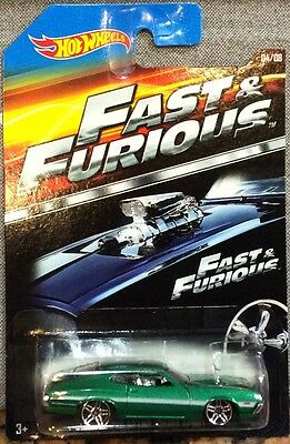 2015 HOT WHEELS  FAST & FURIOUS '72 FORD GRAND TORINO SPORT  04/08