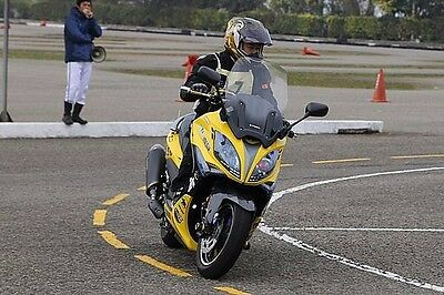 Kymco Xciting 400 / Xciting 250/300/500 Front Mounted Square Mirrors